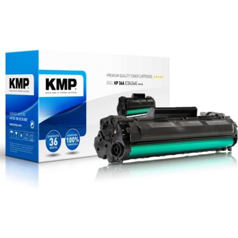 KMP Toner f�r HP kompatibel mit CB436A f�r ca.