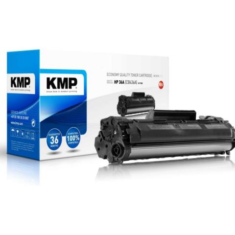KMP Toner, recycelt in Economy Qualität für HP