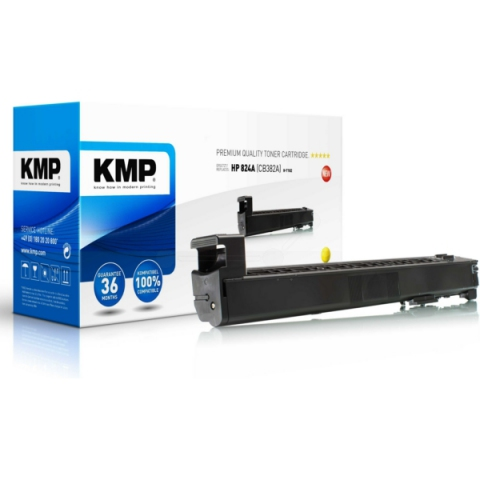 KMP Toner ersetzt HP 824A (CB382A)für Laserjet