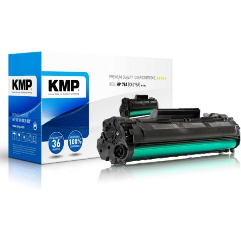 KMP Toner, recycelt von kompatibel mit HP 78A