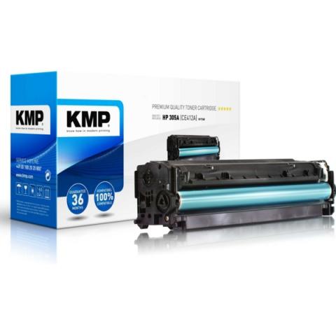 KMP Toner, ersetzt HP 305A ( CE412A ) f�r ca.