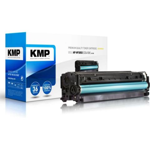 KMP Toner 4.900 Seiten, ersetzt HP 305X ( CE410X