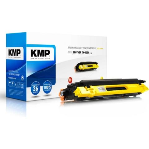 KMP B-T27 Toner, ersetzt TN-130Y f�r Brother