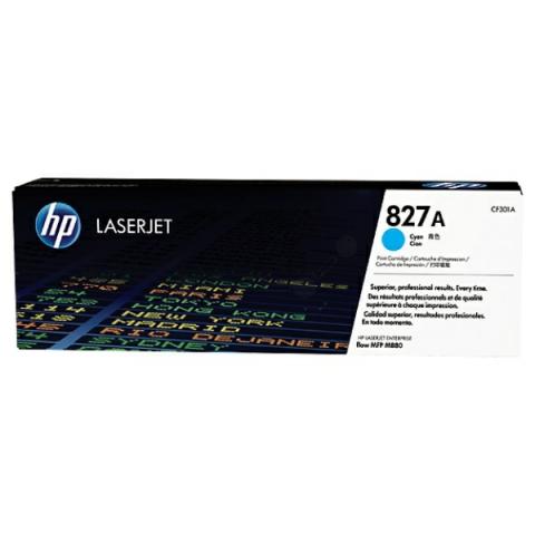 HP CF301A Toner original HP 827A f�r ca. 32.000