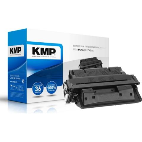 KMP Toner, recycelt, ersetzt HP 27A C4127A für