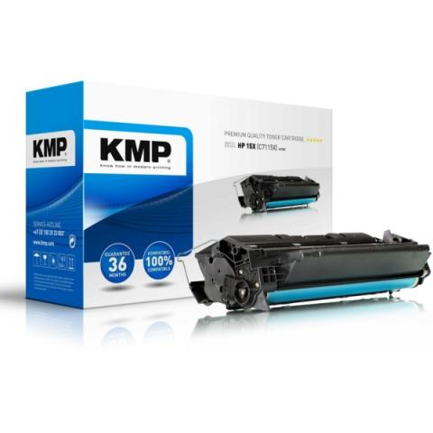 KMP Toner (rebuild) mit 10.000 Seiten für HP