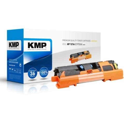 KMP H-T31 Toner kompatibel zu C9702A mit für ca.