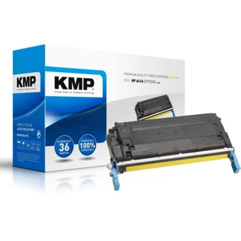 KMP Toner kompatibel zum HPToner C9722A mit