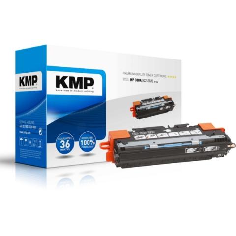KMP Toner, recycelt für ca. 6.000 Seiten für HP