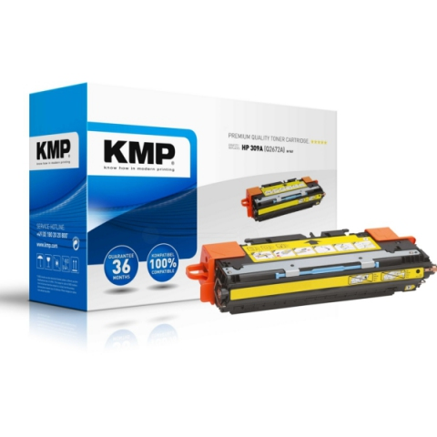 KMP Toner, recycelt, kompatibel mit Q2672A für
