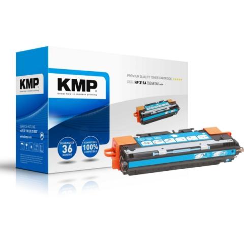 KMP Toner, recycelt, ersetzt HP 311A , Q2681A