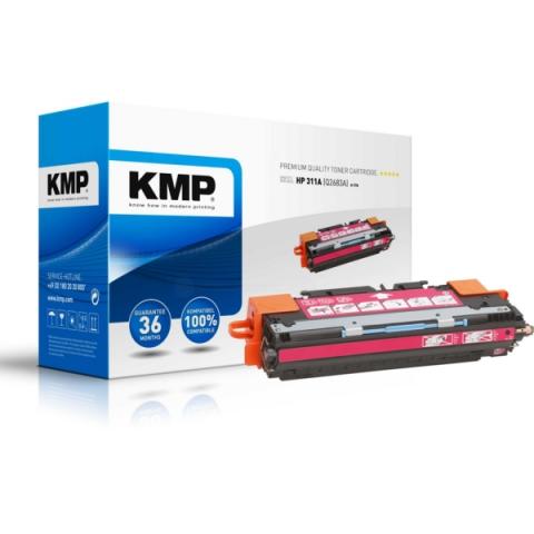 KMP Toner, recycelt, ersetzt HP 311A , Q2683A