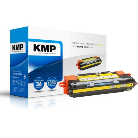 KMP Toner, recycelt, ersetzt HP 311A , Q2682A