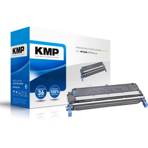 KMP Toner für HP kompatibel mit C9731A für ca.