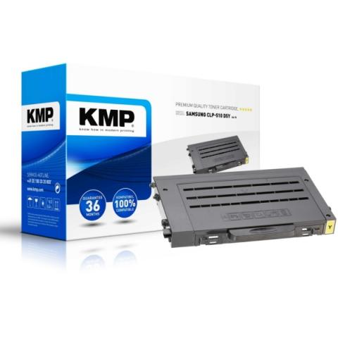 KMP Toner, recycelt, kompatibel zu CLP-510D2Y