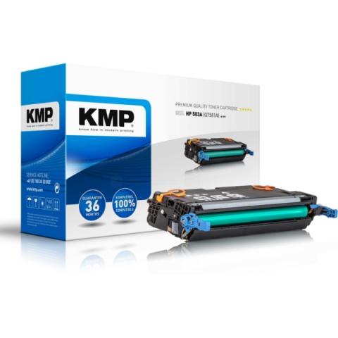 KMP Toner kompatibel zu Q7581A für HP Color
