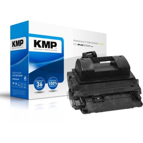 KMP Toner kompatibel mit CC364X, recycelter