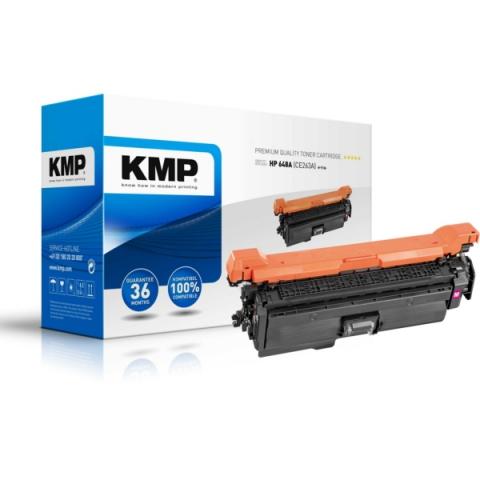 KMP Toner ersetzt HP 648A , CE263A, recycelter