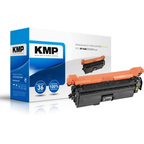 KMP Toner ersetzt HP 648A , CE262A, recycelter