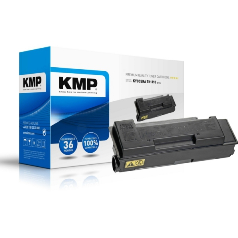 KMP Toner, recycelt f�r ca. 12000 Seiten, f�r