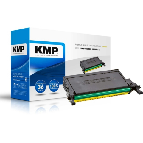 KMP Toner als Recycling Toner ersetzt CLP-Y660A