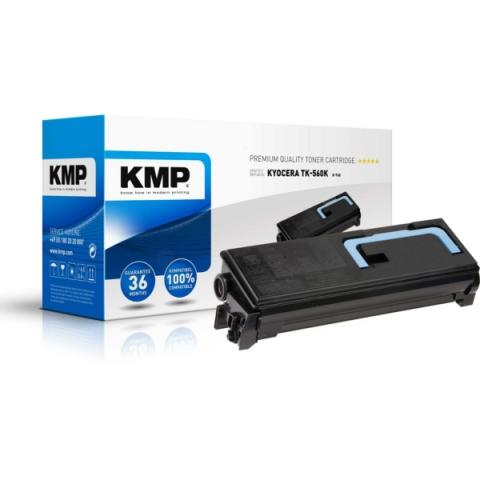 KMP Toner, kompatibel zu TK-560K f�r ca. 12.000