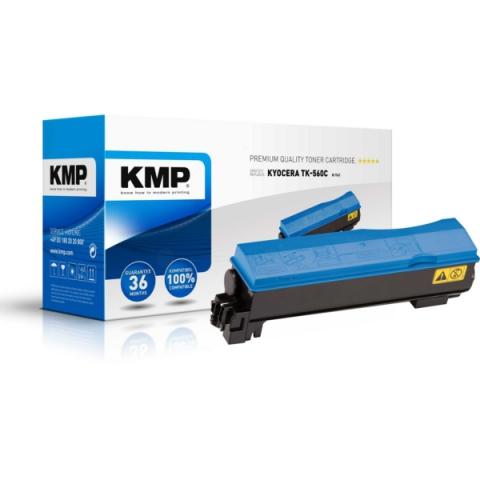 KMP Toner, kompatibel zu TK-560C für ca. 10.000