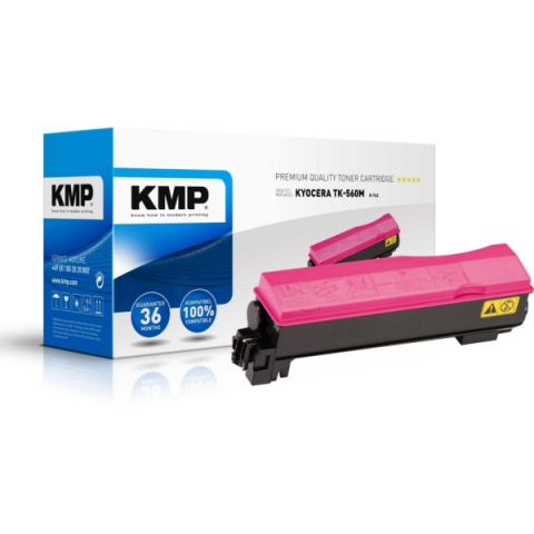 KMP Toner, kompatibel zu TK-560M für ca. 10.000