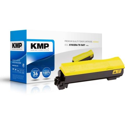 KMP Toner, kompatibel zu TK-560Y f�r ca. 10.000