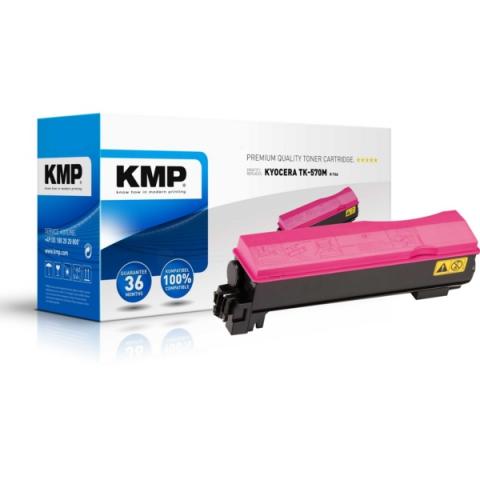 KMP Toner, kompatibel zu TK-570M f�r ca. 12.000
