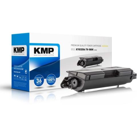 KMP Toner, ersetzt Kyocera TK-580K recycelter