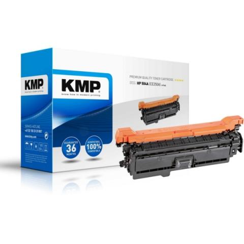 KMP Toner ersetzt HP504A (CE250A) für HP