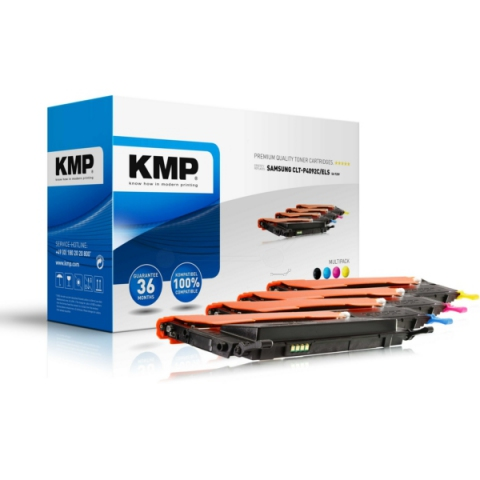 KMP Multipack Toner kartuschen, 1x für ca.