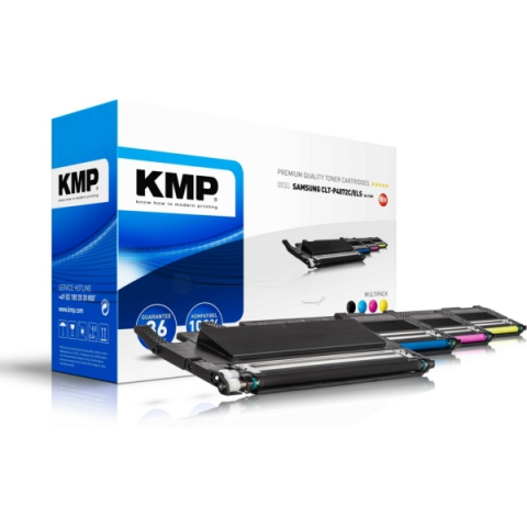 KMP Multipack Toner ersetzt Samsung CLT-P4072C