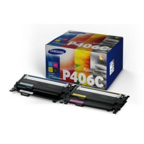 Samsung CLT-P406C , ELS Toner SET, original
