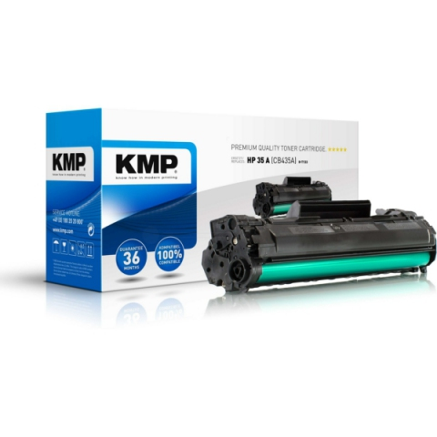 KMP Rebuild- Toner Kartusche ersetzt HP CB435A