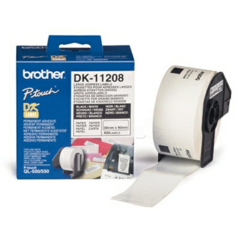 Brother DK11208 BROTHER P-TOUCH QL550