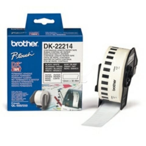 Brother DK22214 BROTHER P-TOUCH QL550 PAPER 30,