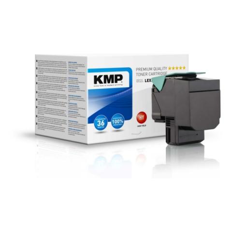 KMP Toner, ersetzt Lexmark C540H2K recycelter