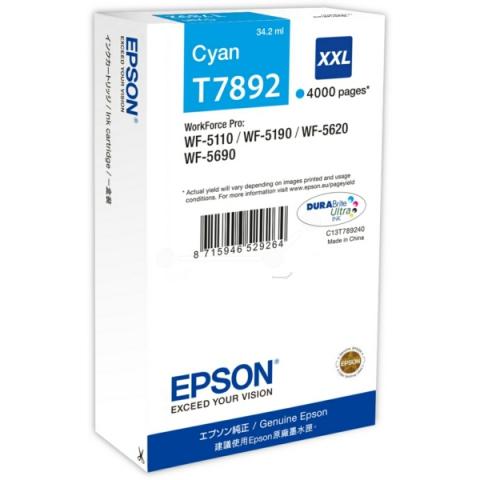 Epson C13T789240 Tintenpatrone XXL mit 34, 2 ml