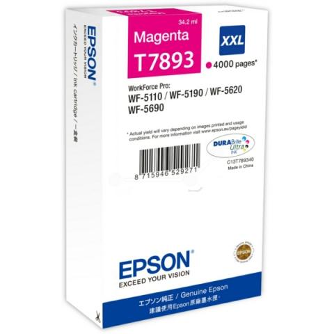 Epson C13T789340 Tintenpatrone XXL mit 34, 2 ml