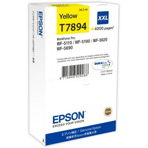Epson C13T789440 Tintenpatrone XXL mit 34, 2 ml