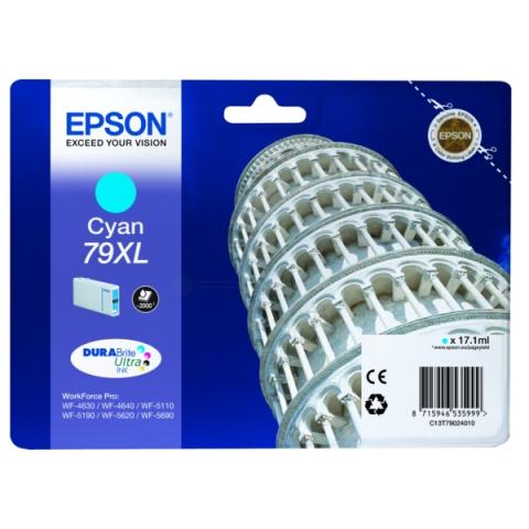 Epson C13T79024010 Tintenpatrone XL mit 17, 1 ml