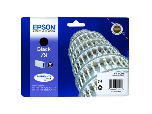 C13T79114010 Tintenpatrone mit 14, 4 ml Inhalt original Epson Druckerpatrone 79 black