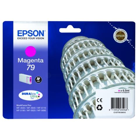 Epson C13T79134010 Tintenpatrone mit 6, 5 ml