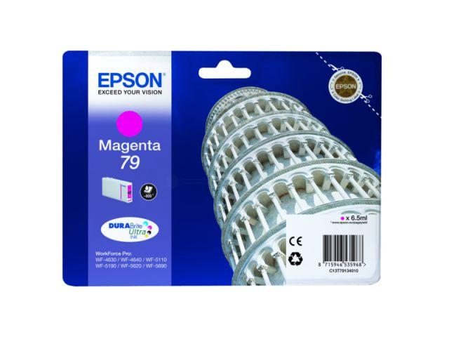 C13T79134010 Tintenpatrone mit 6, 5 ml Inhalt original Epson Druckerpatrone 79 magenta