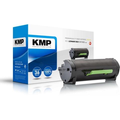 KMP Toner ersetzt 50F2X00) für Lexmark MS410D ,