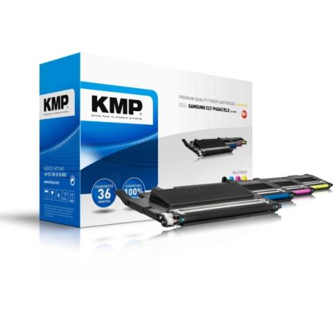 KMP Toner, recycelt im MULTIPACK passend f�r