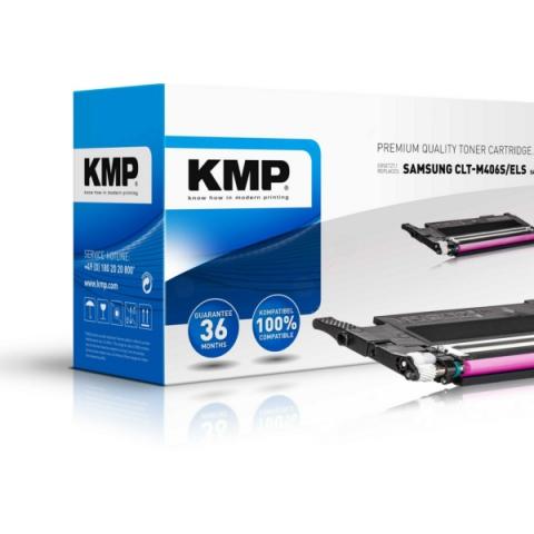 KMP Toner, recycelt, ersetzt CLT-M406S,ELS für