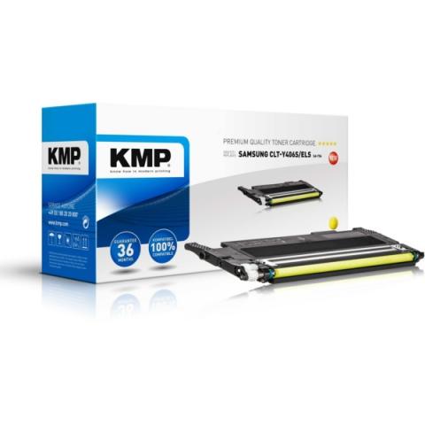 KMP Toner, recycelt, ersetzt CLT-Y406S,ELS für